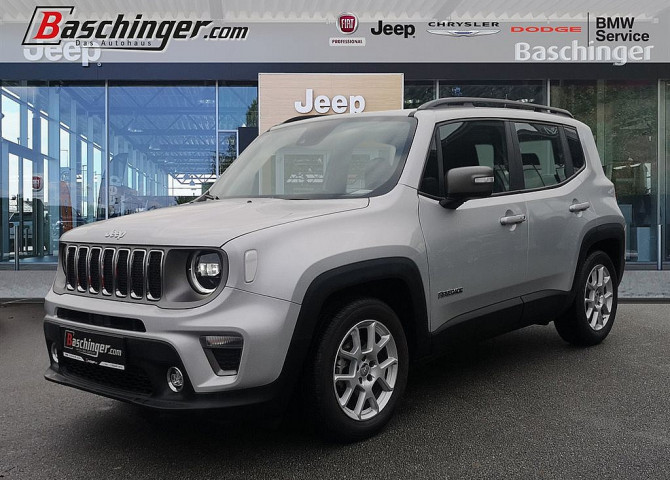 Jeep Renegade 1,0 MultiAir FWD 6MT Limited LED-Scheinwerfer bei Baschinger Ges.m.b.H. in
