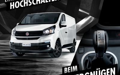 Der Fiat Talento Automatik