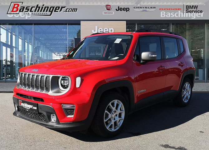 Jeep Renegade 1,0 MultiAir T3 FWD 6MT 120 Limited bei Baschinger Ges.m.b.H. in