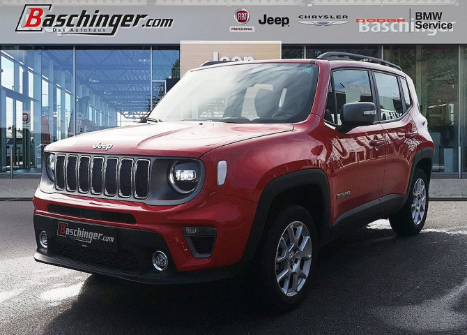 Jeep Renegade 2,0 MultiJet II AWD 6MT Limited LED-Scheinwerfer bei Baschinger Ges.m.b.H. in