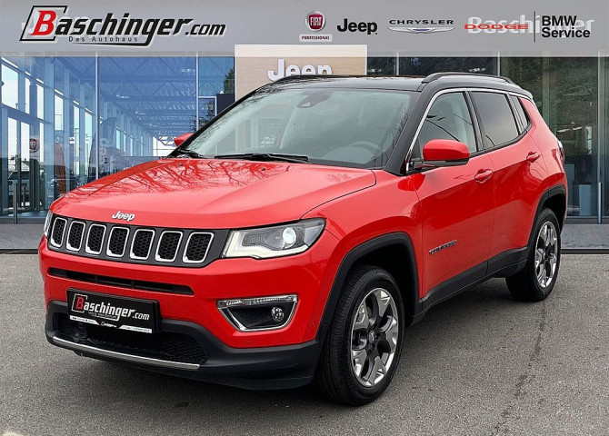 Jeep Compass 1.4 Multiair Limited AWD 9AT 170 bei Baschinger Ges.m.b.H. in