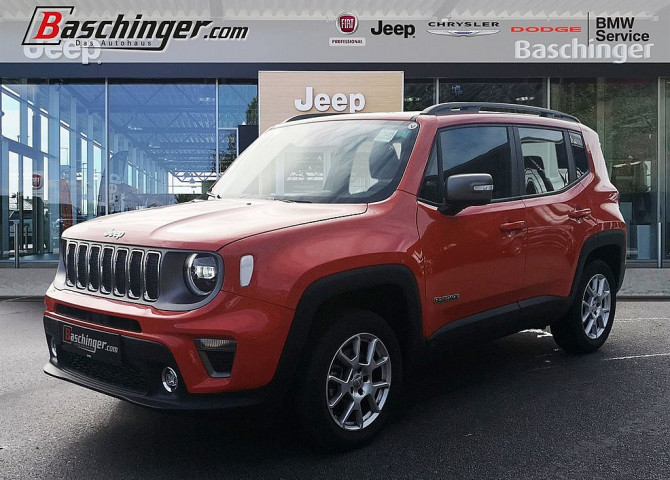 Jeep Renegade 1,3 MultiAir FWD Limited Aut. bei Baschinger Ges.m.b.H. in