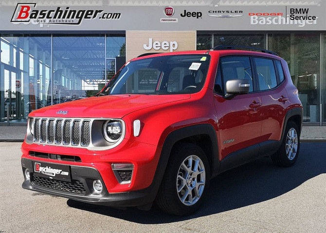 Jeep Renegade 1.3 MultiAir FWD Limited Aut. bei Baschinger Ges.m.b.H. in