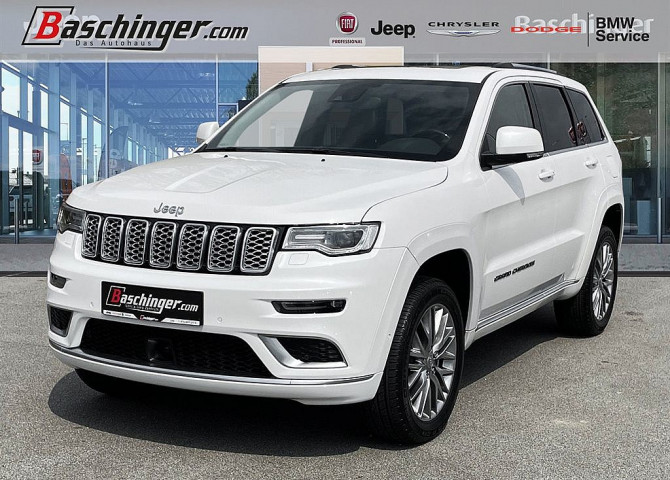 Jeep Grand Cherokee 3,0 V6 CRD Summit bei Baschinger Ges.m.b.H. in