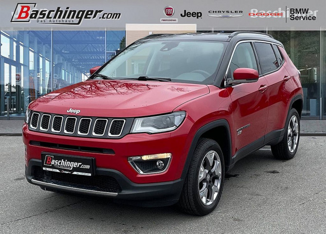 Jeep Compass 2,0 MultiJet II AWD Limited Aut. ACC/Stammkundenfzg bei Baschinger Ges.m.b.H. in
