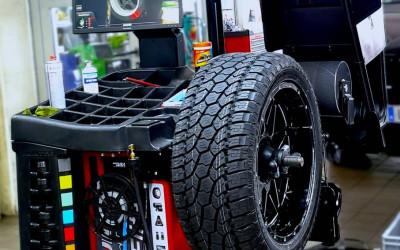 Neu: Unsere Hunter Reifenwuchtmaschine