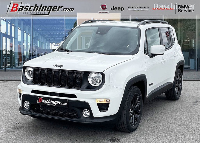Jeep Renegade 1,3 MultiAir T4 FWD 6DDCT Night Eagle Limited bei Baschinger Ges.m.b.H. in