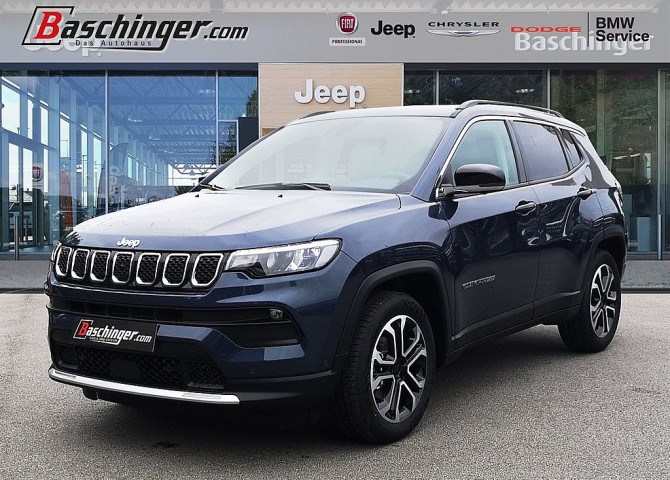 Jeep Compass 1.3 Multiair Limited T4 FWD 6MT bei Baschinger Ges.m.b.H. in