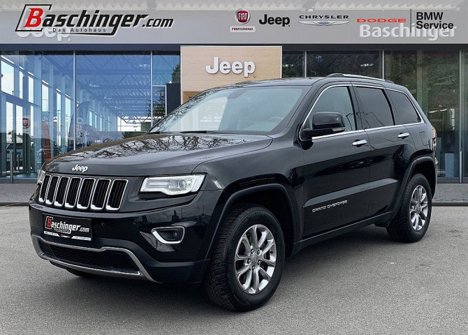 Jeep Grand Cherokee 3,0 V6 CRD Limited bei Baschinger Ges.m.b.H. in
