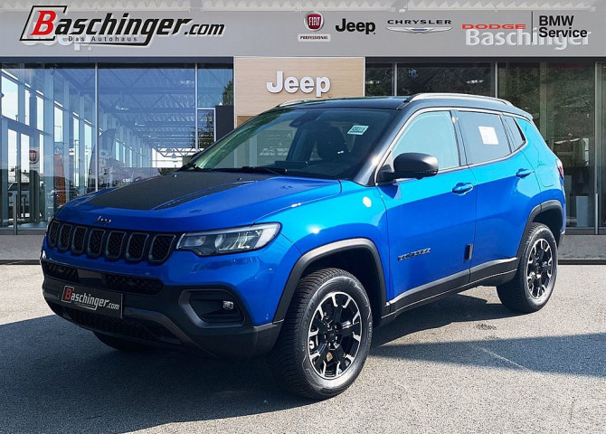 Jeep Compass MY21 1.3 PHEV Trailhawk 4xe Aut. bei Baschinger Ges.m.b.H. in