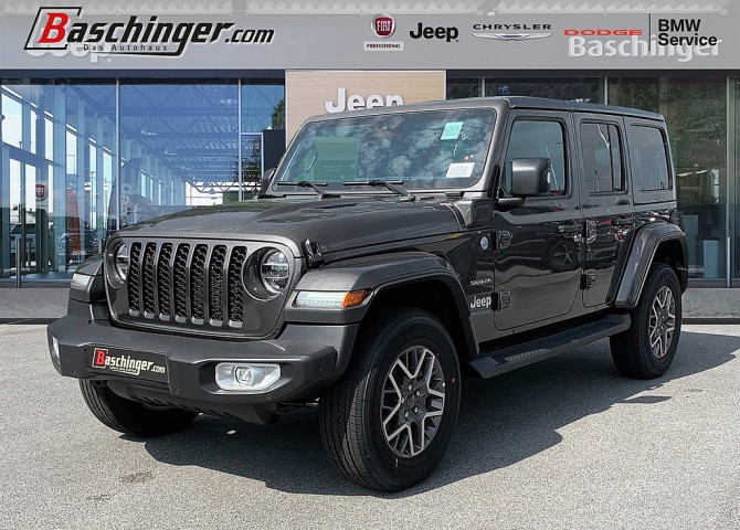 Jeep Wrangler Sahara PHEV 2,0 GME Aut. bei Baschinger Ges.m.b.H. in