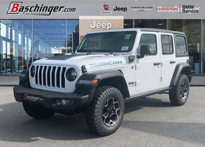 Jeep Wrangler Unlimited PHEV 2.0 GME Rubicon Aut. bei Baschinger Ges.m.b.H. in