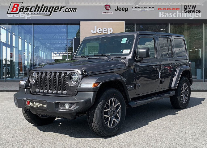 Jeep Wrangler 80th PHEV 2,0 GME Aut. bei Baschinger Ges.m.b.H. in
