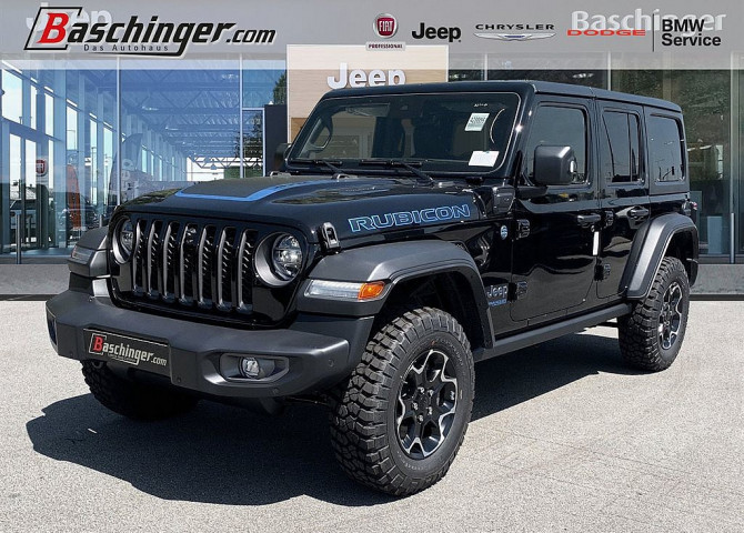 Jeep Wrangler Unlimited PHEV 2.0 GME Rubicon Aut. SONDERNACHLASS bei Baschinger Ges.m.b.H. in