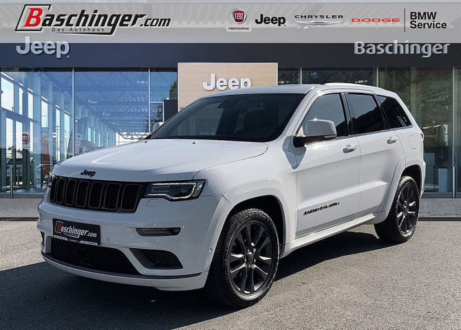 Jeep Grand Cherokee 3,0 V6 CRD S Modell bei Baschinger Ges.m.b.H. in