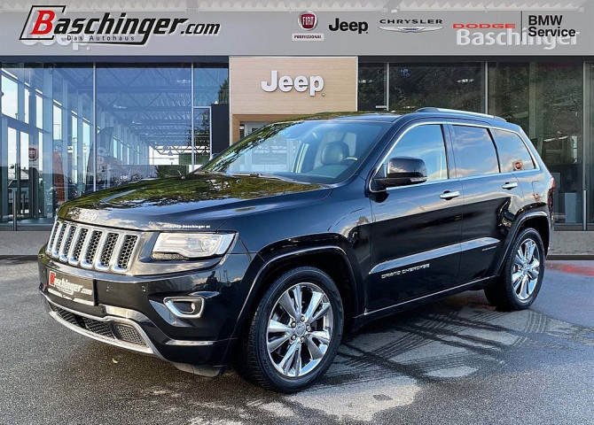 Jeep Grand Cherokee 3,0 V6 CRD Overland bei Baschinger Ges.m.b.H. in